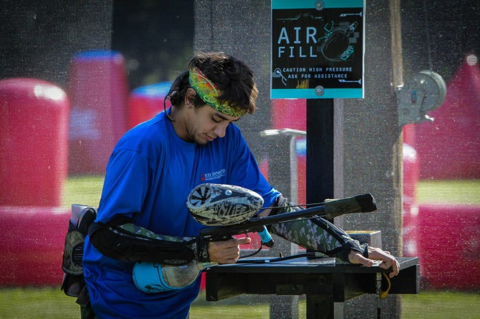 South Tampa's Paintball Co. Field Air Station