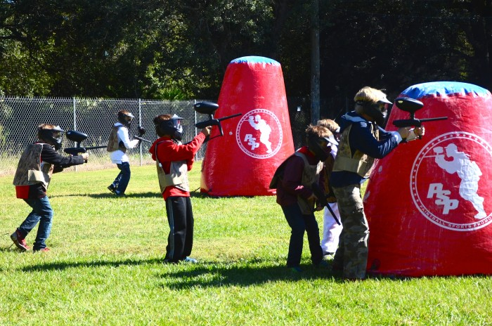 Tampa Bay, Florida Paintball Birthday Parties