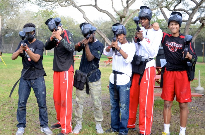 kid's paintball party Tampa Florida