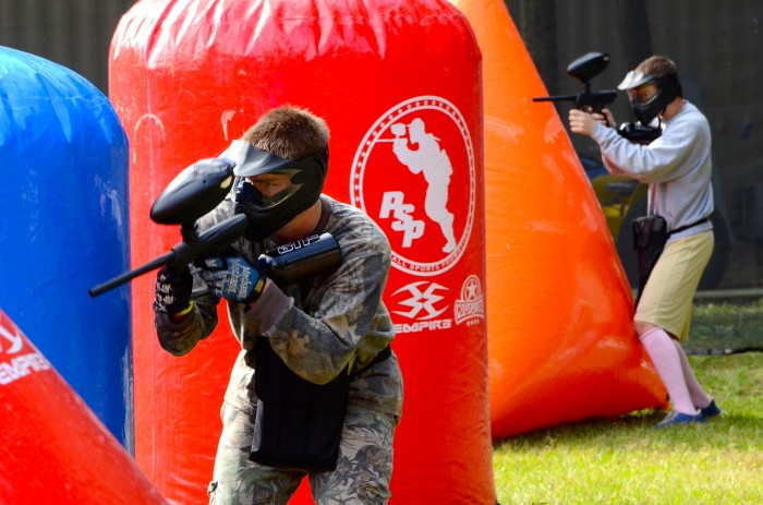 Tampa Paintball Party