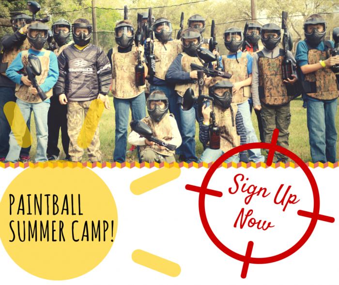 Tampa summer camp for kids 2019 Paintball Tampa Florida